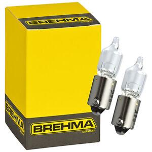 10x BREHMA H20W 12V 20W Halogen Innenraumbeleuchtung Ba9s Leselampe