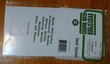 "Evergreen Styrene #2125 / 6 x 12"" Styrene Siding Sheet, V-Groove .020"" Thick --"