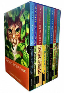 Michael-Morpurgo-8-Books-Collection-Box-Set-Little-Foxes-Twist-of-Gold-Series-2