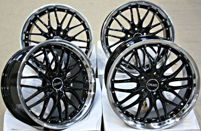 """ALLOY WHEELS 19"""" CRUIZE 190 BP FIT FOR OPEL ADAM S CORSA D ASTRA H & OPC"""
