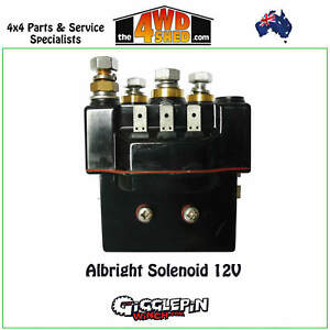 Details about Albright Winch Solenoid 12V Heavy Duty suit Warn 8274 on