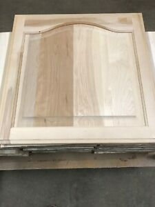 unfinished stain / paint grade kitchen cabinet raised