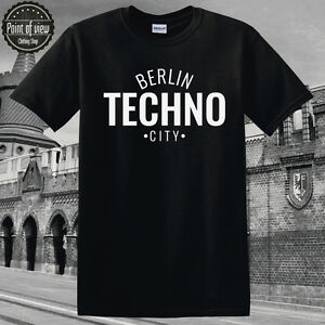 half off 26826 efdd5 Details about Berlin Techno T Shirt time warp Festival Unisex Cotton T  shirt for Dj's Tshirt