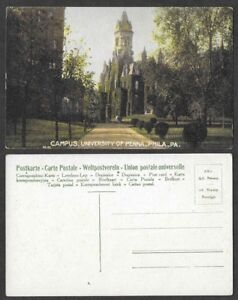 Old-University-of-Pennsylvania-Postcard-Philadelphia-Campus
