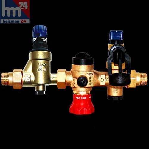 Syr Grupo Seguridad Tipo 25 con rojouctor de Presión Dn 15 20 con 6-10BAR