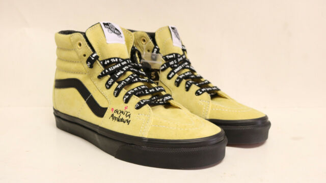 Vans ATCQ SK8 Hi Mellow Yellow Bonita Applebum A Tribe Called Quest SZ 5  Mens 42b091777