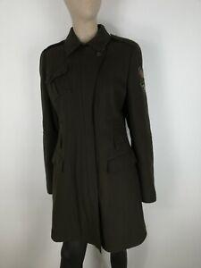 KEJO-LANA-WOOL-Cappotto-Giubbotto-Giubbino-Jacket-Coat-Giacca-Tg-48-Donna-Woman