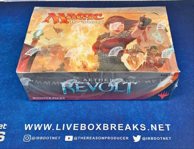 Aether Revolt Booster Box (ENGLISH) FACTORY SEALED BRAND NEW MAGIC MTG
