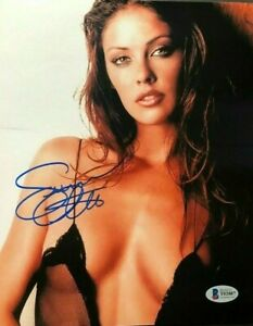 Summer-Altice-Hot-signed-autographed-classic-sexy-8x10-photo-Beckett-BAS-COA