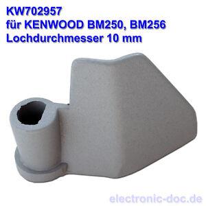 neu original knethaken kw702957 f r brotbackautomat kenwood bm250 bm256 10mm ebay