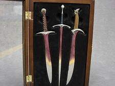 The Hobbit * Sword Replica Letter Opener Set * Glamdring Orcrist Sting LOTR