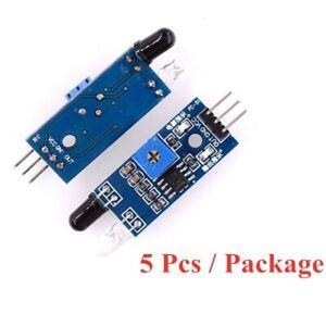 5pcs IR Infrared Obstacle Avoidance Sensor Board Module for Arduino Smart Robot