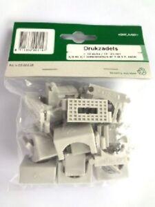 10 x Kabelklemmen Kabelhalter Kabelclip 12-20mm 5/8-3/4\