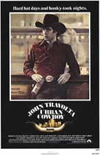 URBAN COWBOY Movie MINI Promo POSTER John Travolta Debra Winger Scott Glenn