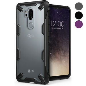 Details about For LG G7 ThinQ | Ringke [FUSION-X] Clear Shockproof Advanced  Armor Cover Case