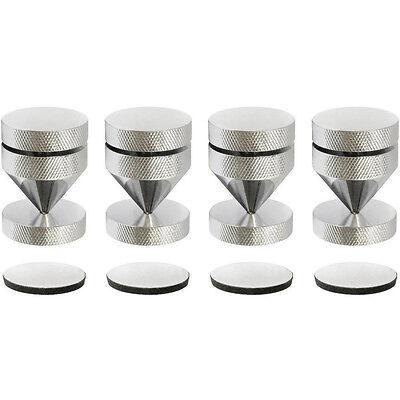 Fashionable Patterns Dynavox Sub-watt-absorber 4er Set Chrom Silber Neu Noisekiller 205049