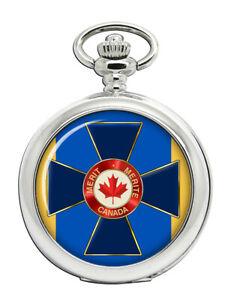 Auftrag-von-Militaer-Merit-Kanada-Taschenuhr