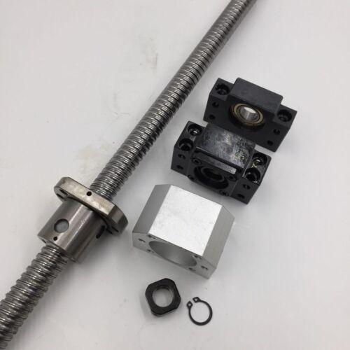 BK//BF15 End Support Machine Kit SFU2005 Ballscrew Travel 500mm Ballnut RM2005