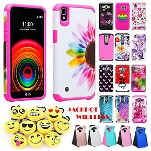 new style af75a 18267 Details about For LG X Power Tough Protective Hard Hybrid Phone Shockproof  Heavy Duty Case