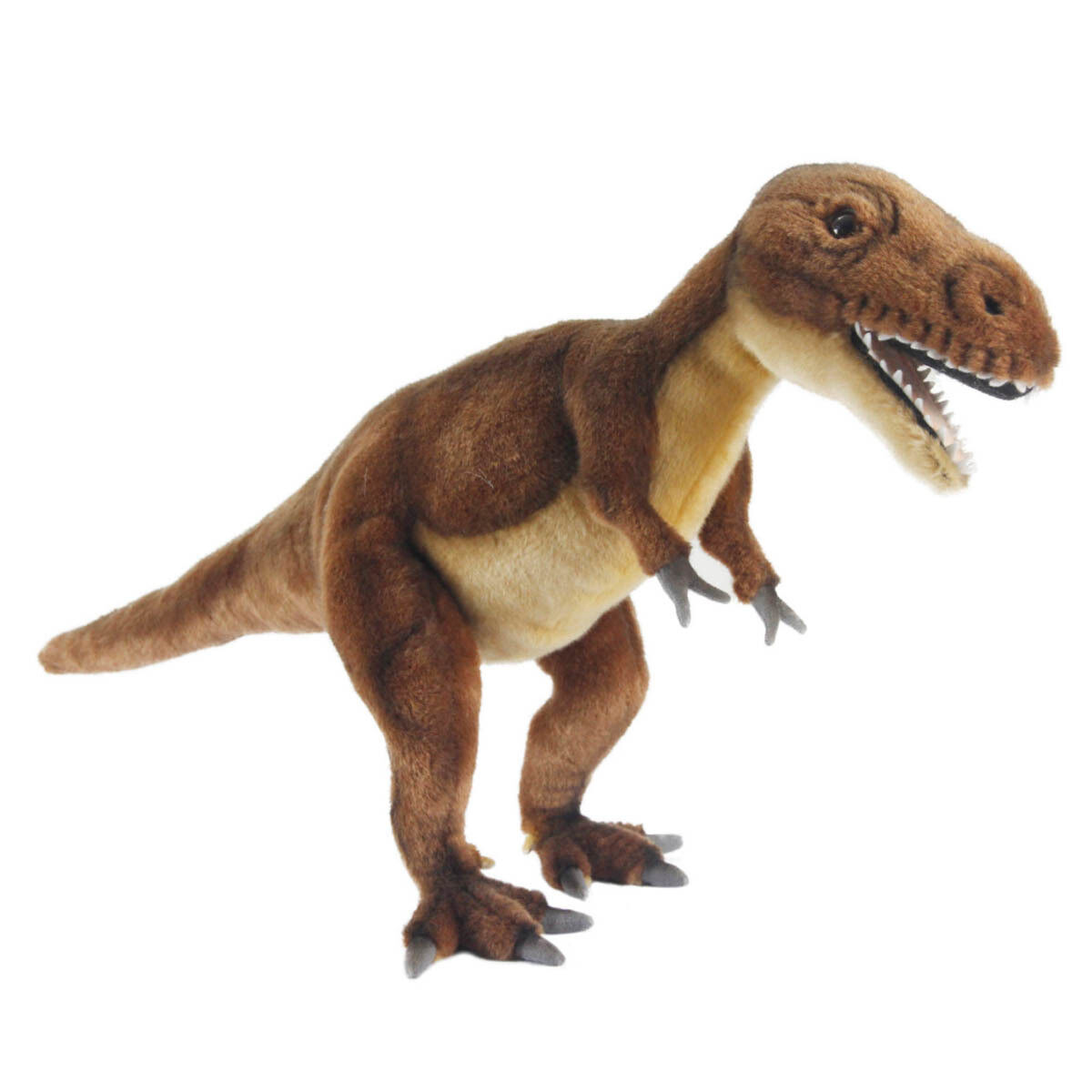 Hansa Tiranosaurio Rex Dinosaurio realista Animal Lindo Suave Juguete de Felpa 66cm  NUEVO