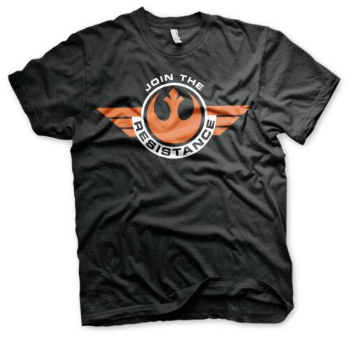 4XL 5XL tee-shirt Homme Sous licence officielle Star Wars-Rejoignez la résistance 3XL