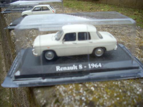 DIE CAST RENAULT 8 1964 SCALA 1\43