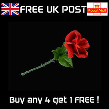 Appearing Rose -Folding Flower, Stage or Close-up Magic Trick - NEW