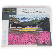 Kazuyuki Flowers 500 pce Japanese Jigsaw Puzzle