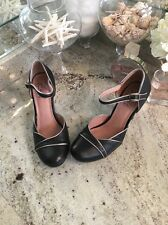 Miz Mooz sandals 7 37.5 Genuine leather Ankle Strap High Heels Nicolina