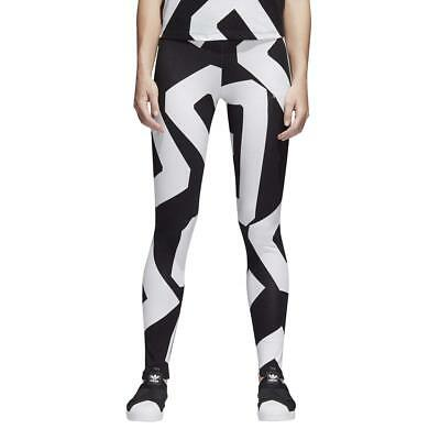 Adidas Originals Womens Bold Age Graphic Print Long Tight Legging Gym Yoga Pants Ebay