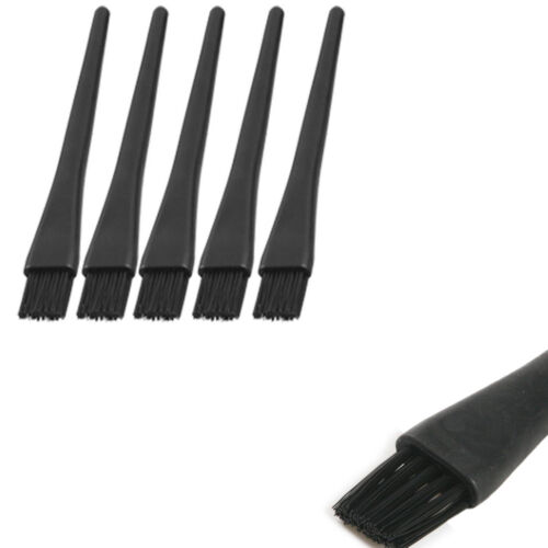 5pcs Black Handle PCB ESD Anti Static Dust Cleaning Brush