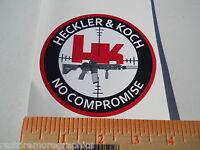 Hk No Compromise Sticker Hk 417 Hk 416 Mr762 P7psp P7m8 P7m10