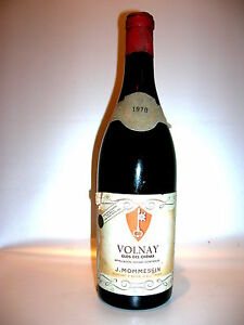 1970 Volnay Clos Du Producteur J. Mommessin Macon France-afficher Le Titre D'origine