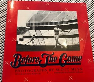Before The Game  Multi-Signed Book Edgar Martinez Mussina Lee Smith Robin Yount
