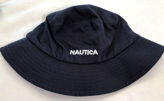 Nautica Men s Reversible Bucket Hat Size S for sale online  8a561e63338c