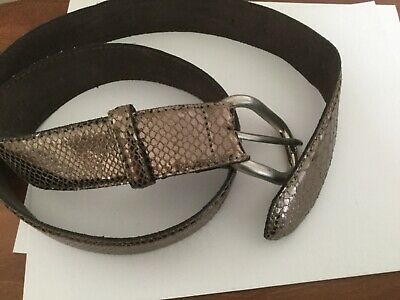 """Abaco"""". """"paris Maculato Color Bronzo Cintura Taglia M. Condizione Di Nizza-mostra Il Titolo Originale Bello A Colori"""