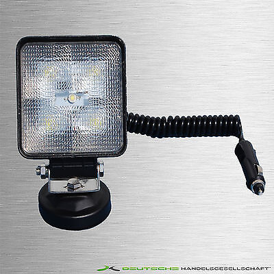 Auto LED 3M Kabel 12V|24V  Leuchte Lichtstrahler Lampe Magnetscheinwerfer 1000lm