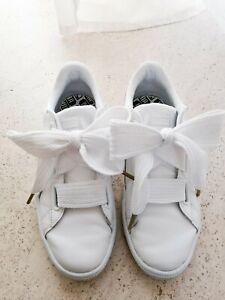 Puma Sneaker Basket Heart weißsilber 39 | eBay