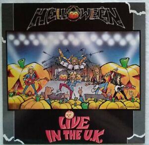 HELLOWEEN-Mint-1989-12-034-Vinyl-LP-039-Live-in-the-U-K-1C0647923711-Germany