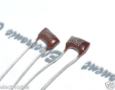 20PF 2pcs 500V ±1//2pF Silvered Mica Capacitor Cornell Dubilier 20P