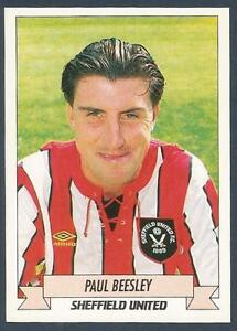 PANINI-FOOTBALL 93-Nº 208 Paul Beesley-Sheffield United