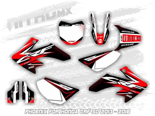 NitroMX Graphics Kit for Honda CRF 50 2013 2014 2015 2016 2017 2018 Motocross MX