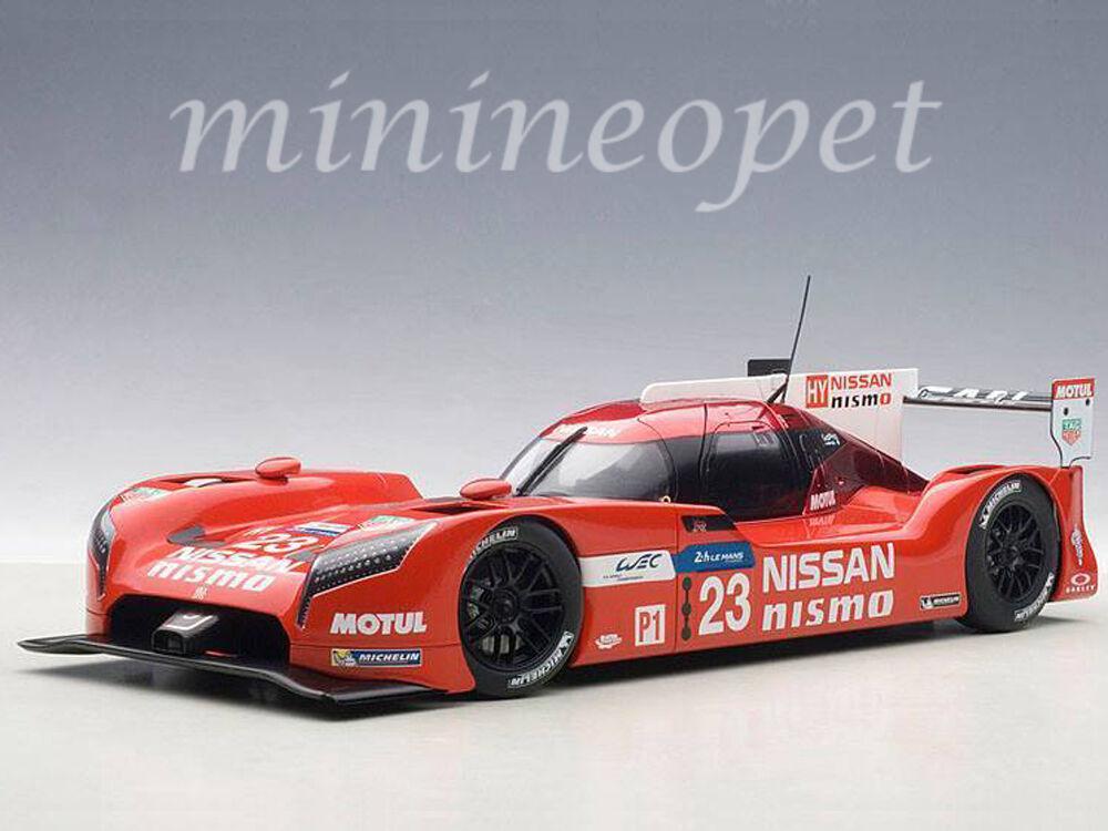 AUTOart 81578 NISSAN  GT-R LM NISMO LEhommeS 2015 O. PLA, J.MARDENBorUGH  23 1 18  vente en ligne