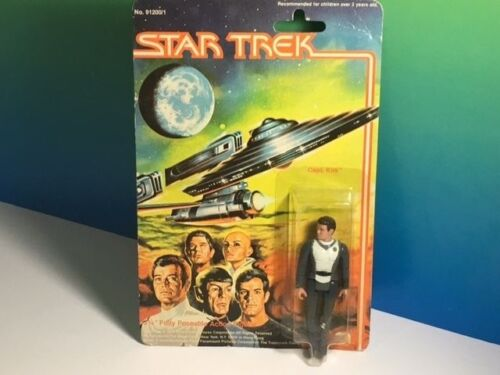 1979 MEGO STAR TREK ACTION FIGURE MOC ORIGINAL SERIES CAPTAIN KIRK ENTERPRISE