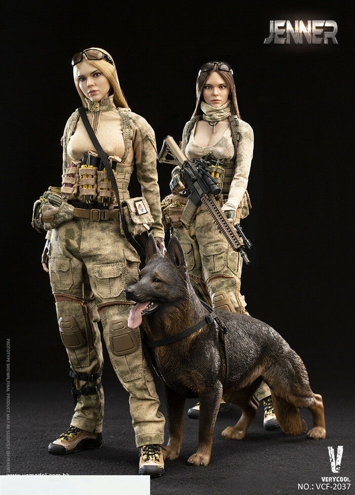VERYCOOL VCF-2037 1 6th A-TACS FG Women Soldier-Jenner Figure Collection