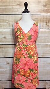 Tracy-Feith-For-Target-Coral-Hibiscus-Print-Sleeveless-Sheath-Dress-Juniors-5