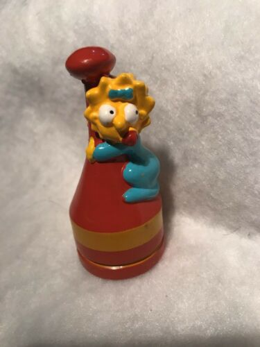The Simpsons Chess Set Replacement Maggie Red Pawn Token Piece Part 2002 Fox