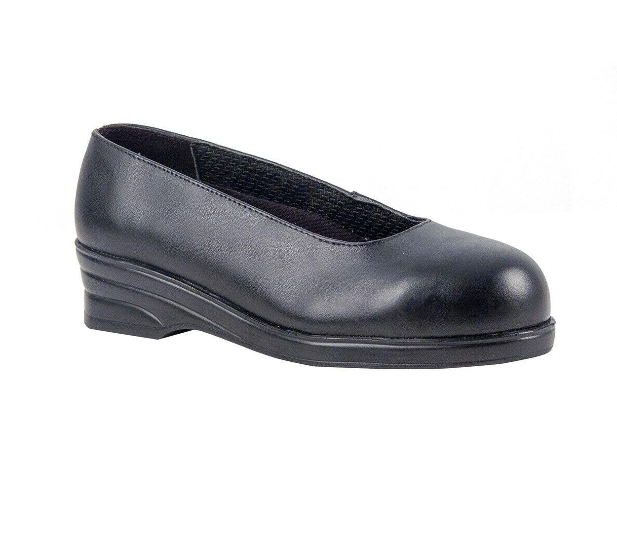 Portwest Steelite FW49 Damen - Elegante Schuhe S1 - Damen Schwarz 8da867