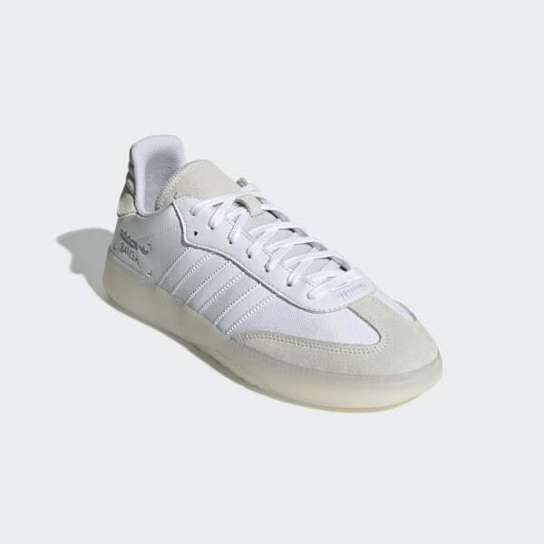 Size 15 - adidas Samba RM Cloud White