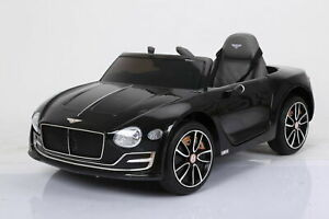 12V 3 Speed Kid Ride On Electric Bentley Style Toy Car Remote Control Led Light